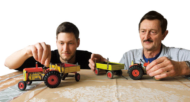 A co vy? Kovové hračky z Náchodu miluje celá Evropa