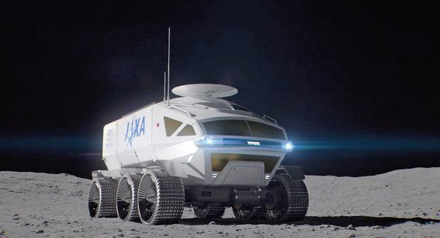 Lunar Cruiser: Na Měsíc vyjede auto od Toyoty!