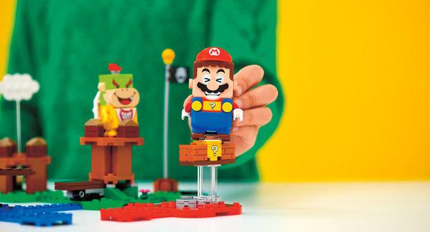 Výherci soutěže o 3 stavebnice Lego Mario