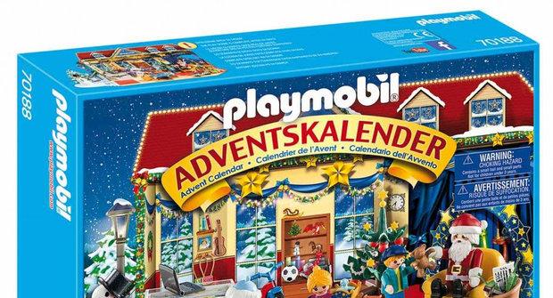 Výherci soutěže s časopisem Mateřídouška o 5 adventních kalendářů Playmobil