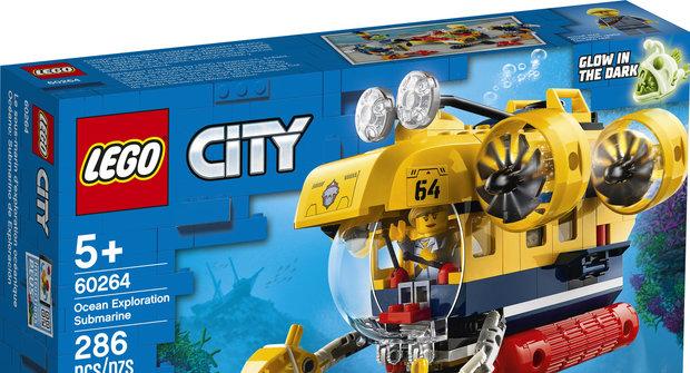 Výherci soutěže časopisu Mateřídouška o 3 stavebnice Lego City – Oceánská průzkumná základna