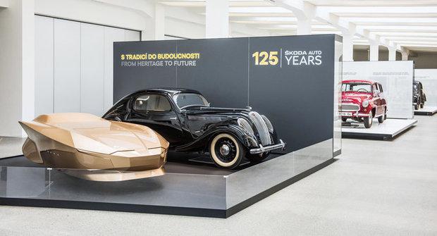 S tradicí do budoucnosti: Výstava k 125. narozeninám automobilky Škoda