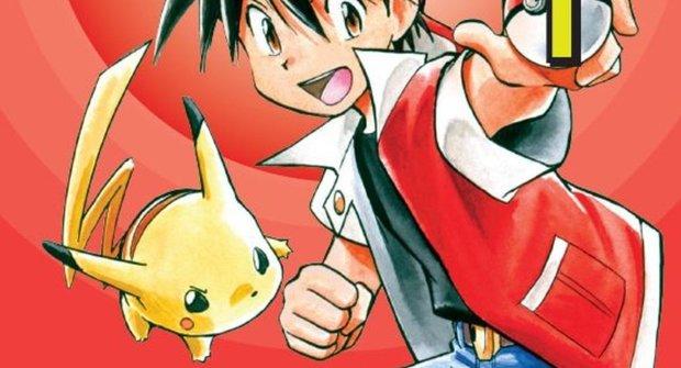 Soutěž časopisu Mateřídouška o 3 komiksy Pokémon: Red a Blue 1