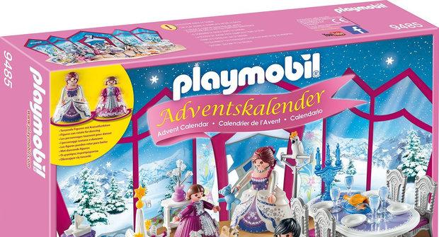 Soutěž časopisu Sluníčko o 5 adventních kalendářů Playmobil