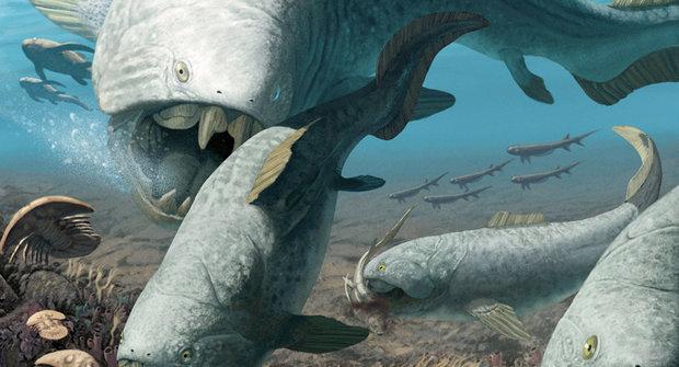Monstrum z devonu: Predátor, který lovil žraloky