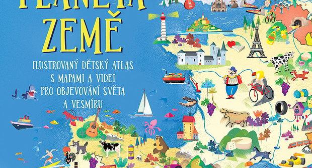 Výherci soutěže o knížky a mapu světa od nakladatelství Slovart