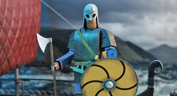 Vystřihovánka zdarma ke stažení: Výzbroj vikingského bojovníka