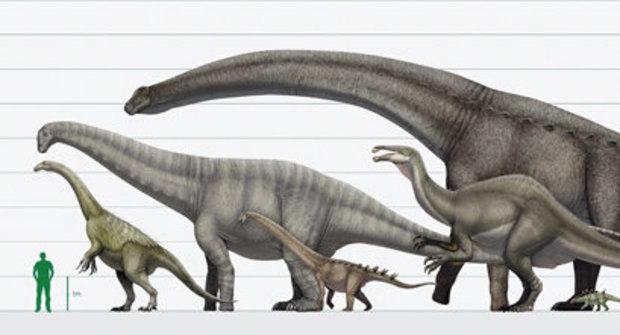 Jak zvážit dinosaura: Hmotnost pravěkých gigantů odhalena