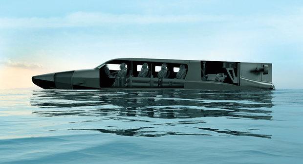 Loď nebo ponorka? Mořský transformer Victa je obojí!