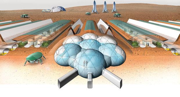 Skleník pro Mars: Farmář na rudé planetě vyřeší překážky nafouknutím