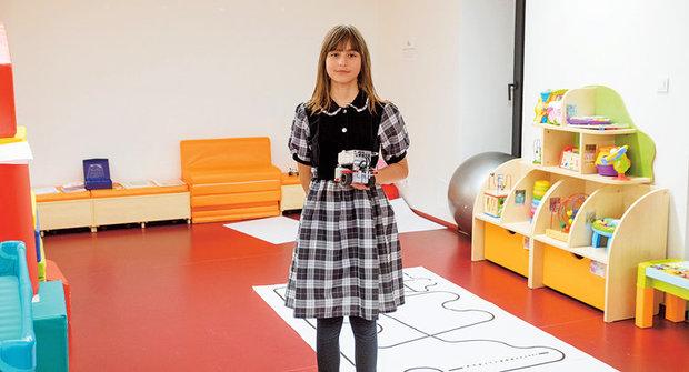 Zlatý oříšek ABC: Pavla Janoušková ukazuje, že robotika není jen pro kluky