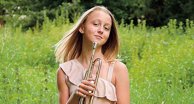 Zlatý oříšek ABC: Anna Palmeová troubí na trumpetu s velkými úspechy
