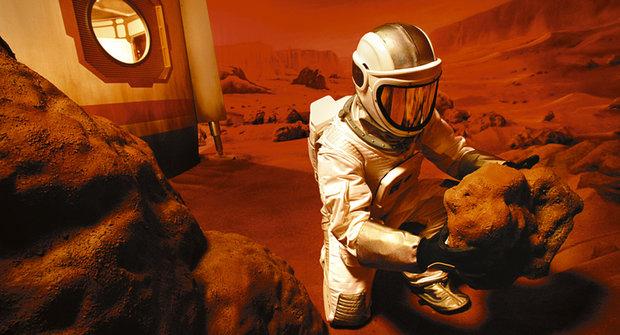 Hurá na Mars! Prstem po mapě od NASA