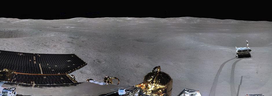 Čchang-e 4: Poprvé na odvrácené straně Měsíce