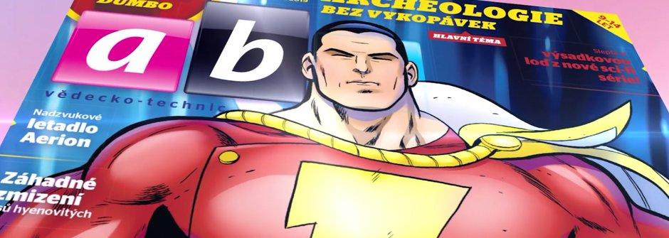 Nové číslo časopisu ABC 7/2019: Shazam!