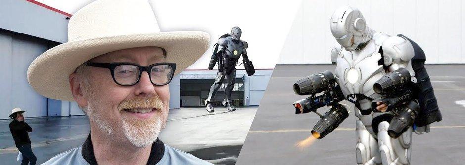Skutečný Iron Man: Létá a je neprůstřelný