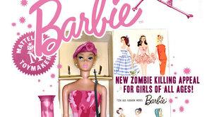 Úlet! Barbie vybavená na zombie masakr. V růžové!