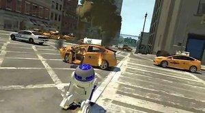 RD-D2 devastuje, terorizuje a drtí město v GTA