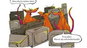 Džouk týdne: Krysy vybírají novou televizi