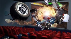 5D kino: Filmy, které lechtají