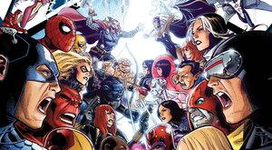 Největší komiksová bitva: Avengers bojují s X-Meny!