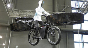 Létající kolo: Cyklistika budoucnosti