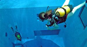 Nejhlubší krytý bazén na světě: Kam se potápěči noří na zimu?