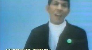 Spock zpívá zvláštní písničku o Hobitovi