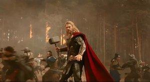 První upoutávka na druhého Thora zahřměla (ČESKY)