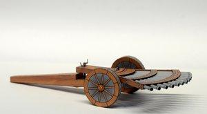 Vynálezy Leonarda Da Vinci: Kulomet