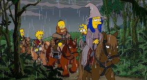 Simpsonovi si dělají srandu z Hobita