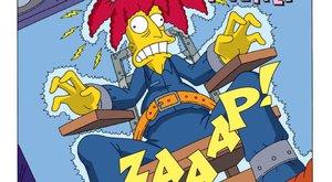 Simpsonovi rozpoutávají komiksové šílenství