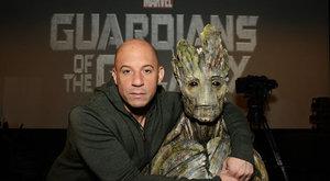 Vin Diesel si zařádí s vesmírnými Avengers, komik Paul Rudd je superhdina Ant-Man