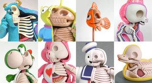 Tajná anatomie animovaných hrdinů ničí dětství!