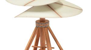 Vynálezy Leonarda da Vinci: Vrtulník