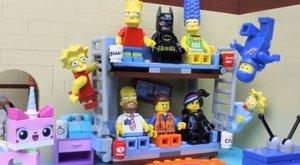 Simpsonovi zažili gaučový gag v (LEGO) kostce a s Batmanem