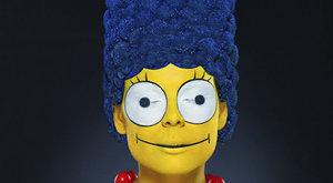 Hrozivě skutečná Marge Simpsonová: To není trik Photoshopu!