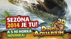 Dinopark startuje novou sezónu