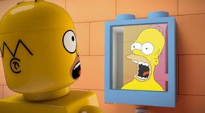 10 fotek ze seriálu Simpsonovi, který obsadilo LEGO