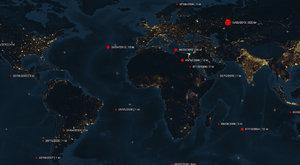 Padají jako hrušky: Podívejte se, kam se trefily největší asteroidy