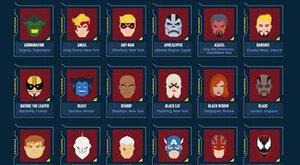 Odkud jsou? Mapa původu super hrdinů