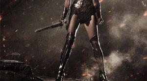Je úžasná! První pohled na Wonder Woman z filmu Batman v Superman