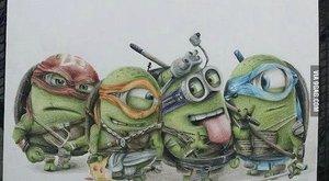 Já, padouch, ty nindža: Želvy Ninja jsou Mimoňi