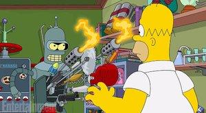 Futurama se vrátí v Simpsonových