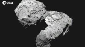 Prozkoumej vesmír! Pohled na kometu zblízka