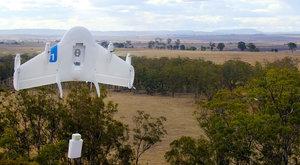 Lepší než pošťák? Dron od Googlu doručuje zboží!