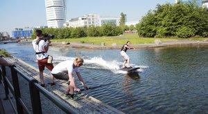 Vodní skateboard na baterky?!!