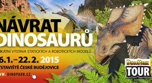 DinoPark Tour 2015: Návrat dinosaurů
