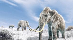 Mamut z doby ledové ožívá
