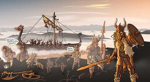 Vikingové a jejich ženy: Miláčku, nezajedeme vypálit vesnici?